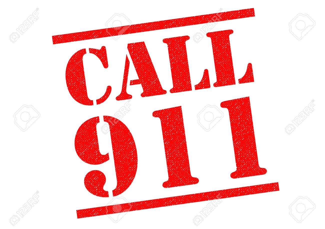 call 911 red rubber stamp over a white background stock photo rh 123rf com Emergency Call Clip Art Call 911 Now