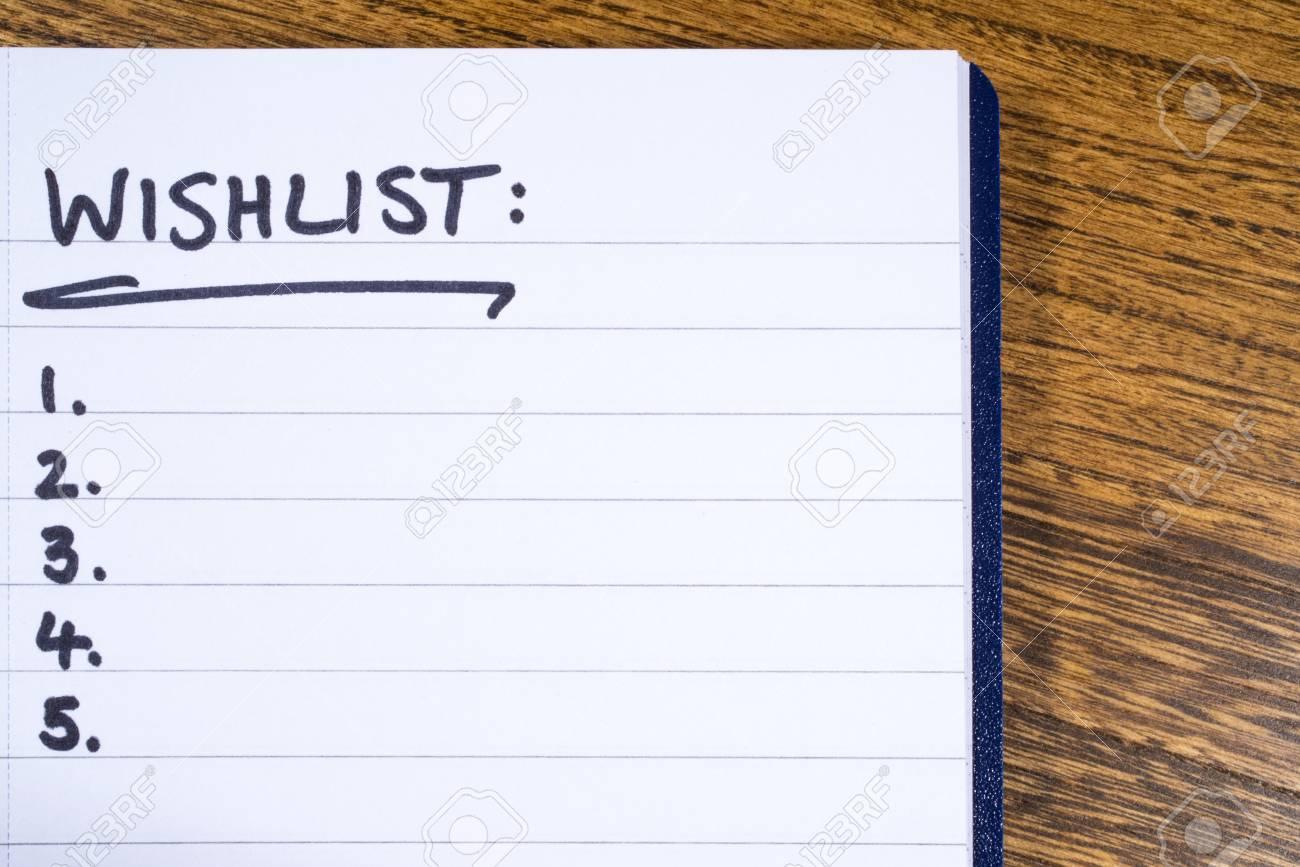 ウイッシュ リスト