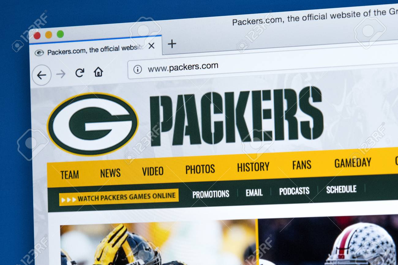 green bay packers official website