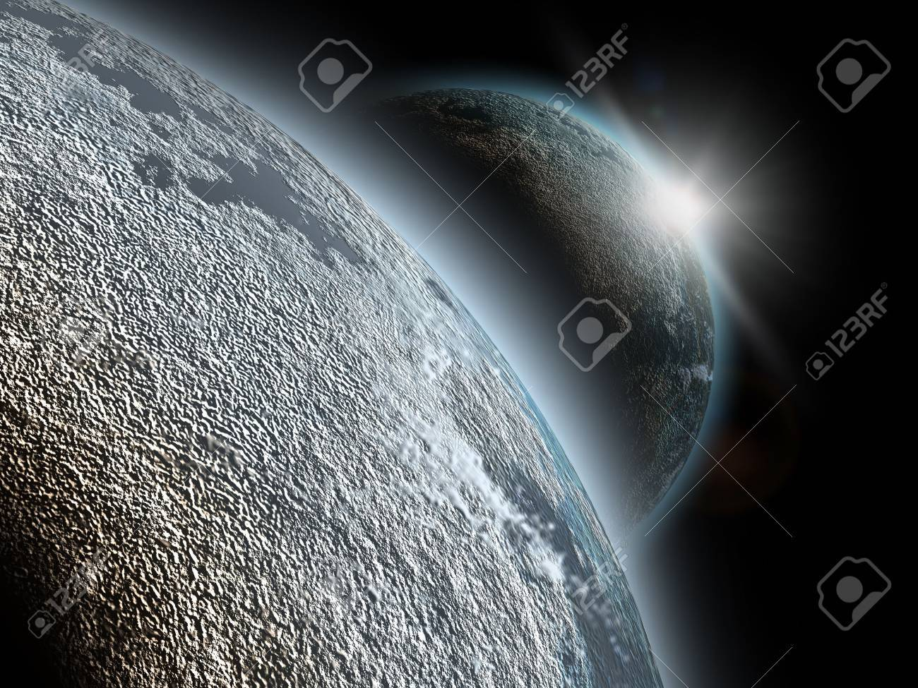 planet in cosmos Stock Photo - 6556775
