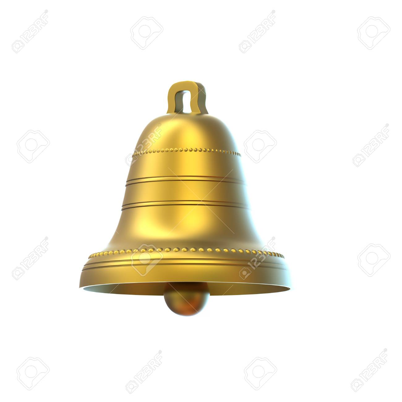 Easter bells isolated on white background Stock Photo - 8994064