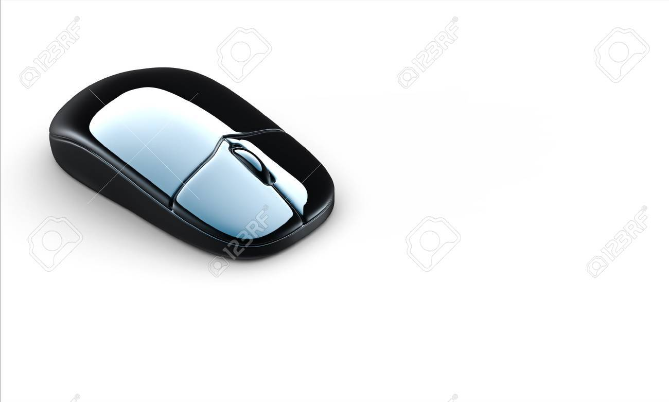 Modern computer mouse isolated on white background Stock Photo - 10423845