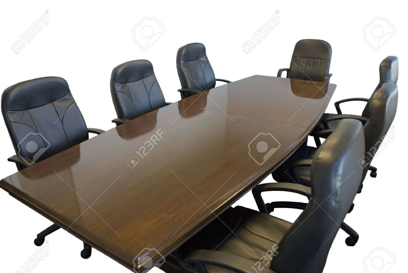 Conference room table with chairs on white background Stock Photo   1913954Conference Room Table With Chairs On White Background Stock Photo  . Meeting Room Table And Chairs. Home Design Ideas