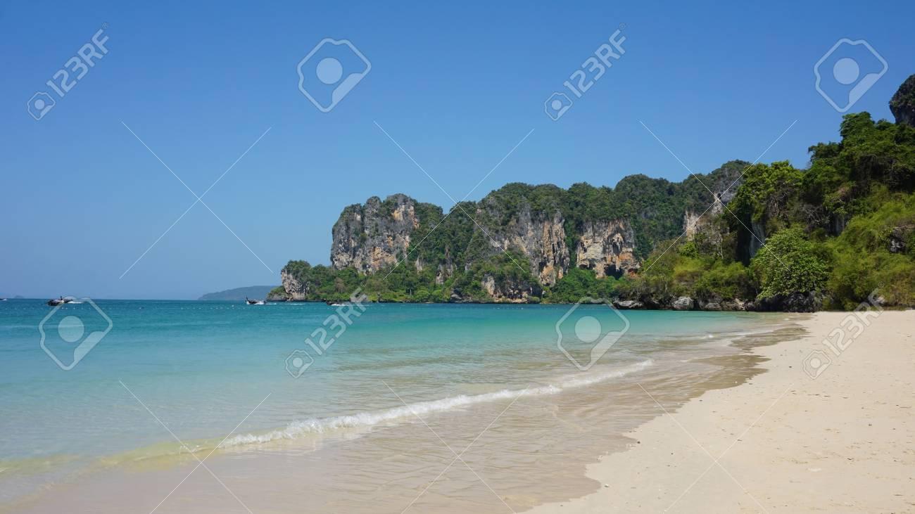 La Naturaleza Impresionante Isla Railey Paraíso En Tailandia Fotos