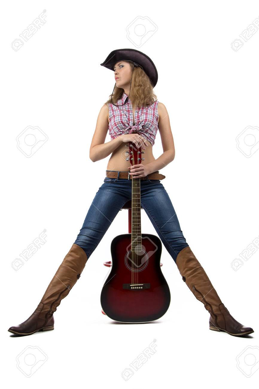 Standing Cowgirl