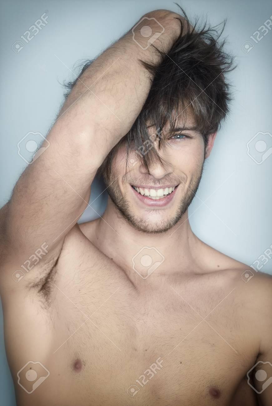 Erotic smile laugh