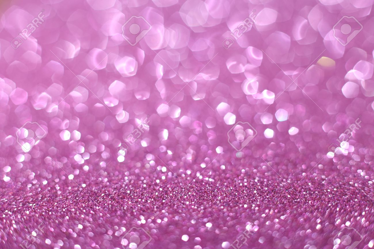 Pink Glitter Texture Valentines Day Background Stock Photo Picture