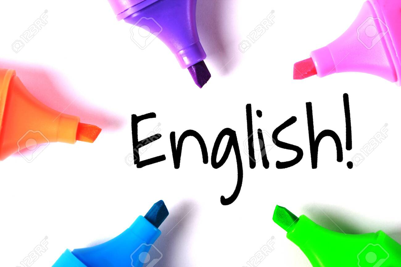 English text of English learning concept. - 152380351