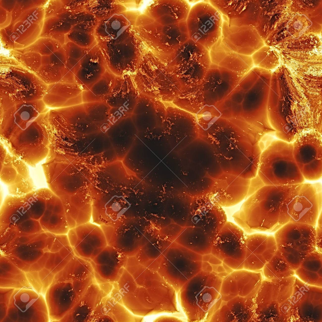 Seamless texture of fire flame background surface of the sun flame background surface of the sun hot lava voltagebd Images