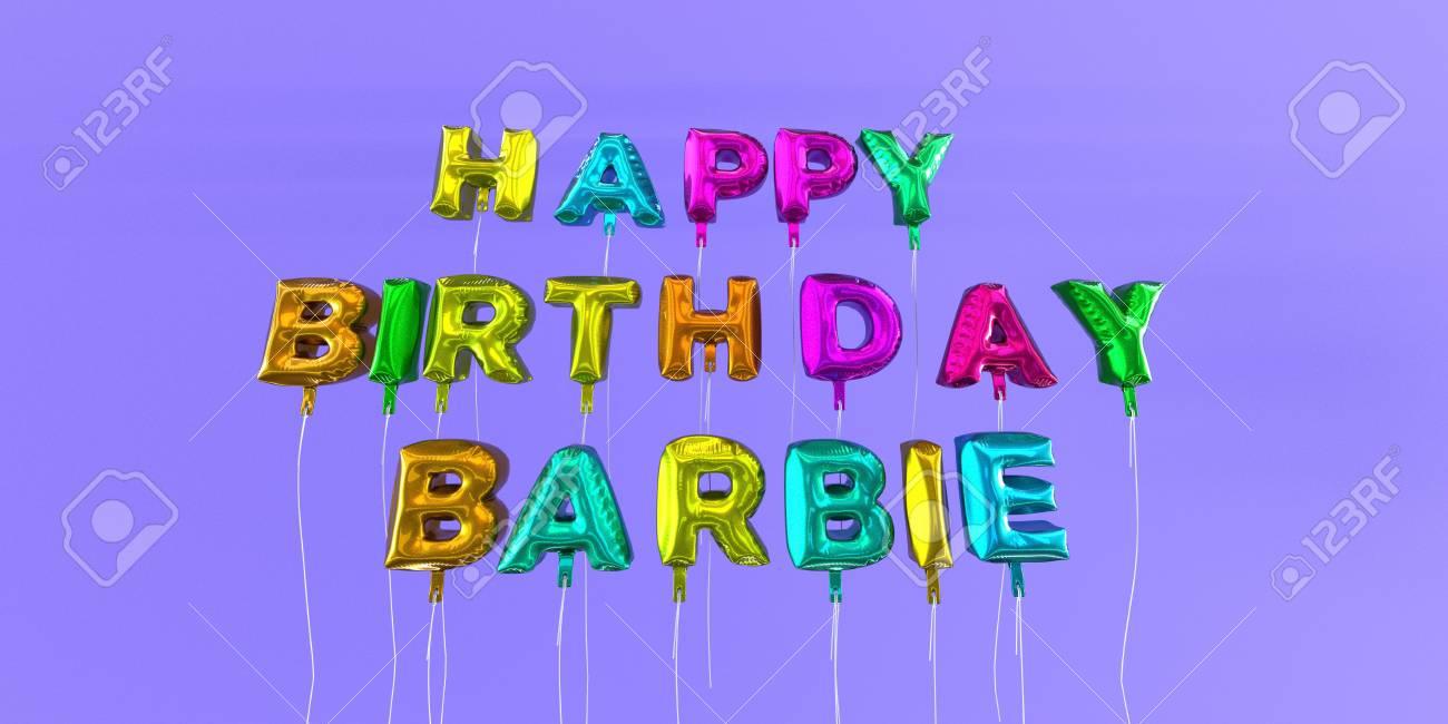 Feliz cumpleanos barbie