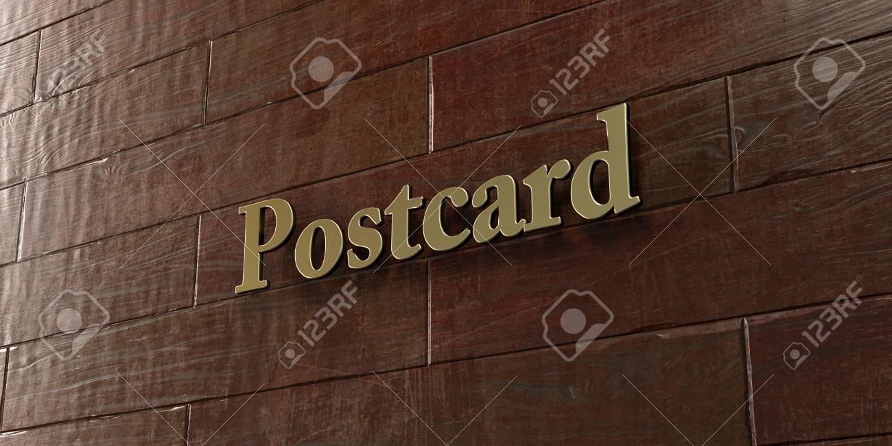 Carte Postale Plaque En Bronze Montee Sur Un Mur En Bois D Erable 3d Rendu Gratuit D Image Libre De Droits Cette Image Peut Etre Utilisee Pour Une Banniere Publicitaire En Ligne