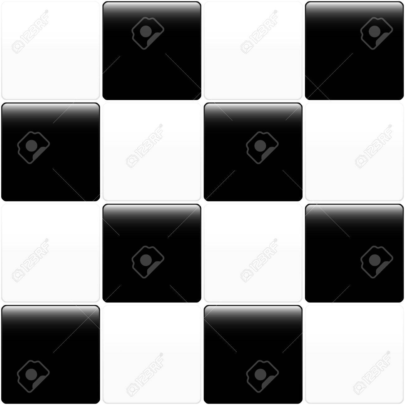 Black and white tile design for use as a background. Available in jpeg and eps8 format. Stock Vector - 5548464