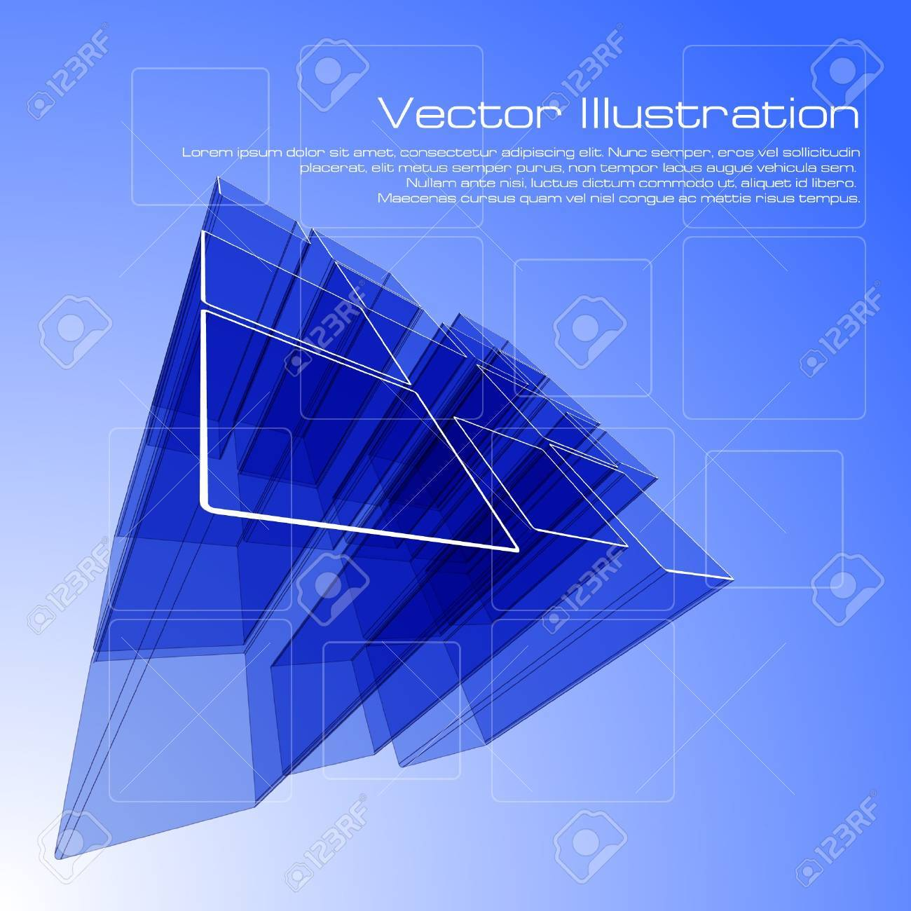 Abstract squares design for use as a background - 7749798