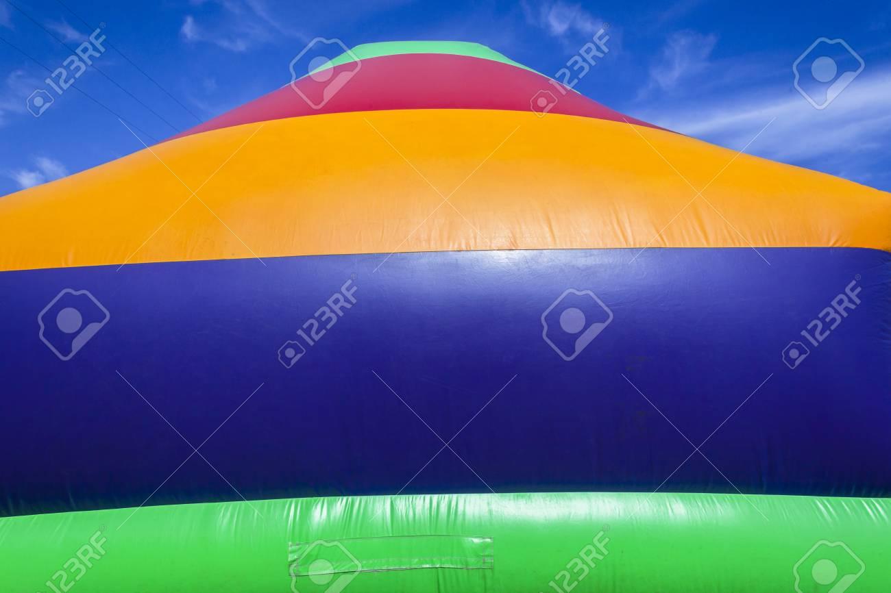 Striking Leinwand Farben Nahaufnahme Hintergrund Der Spielplatz