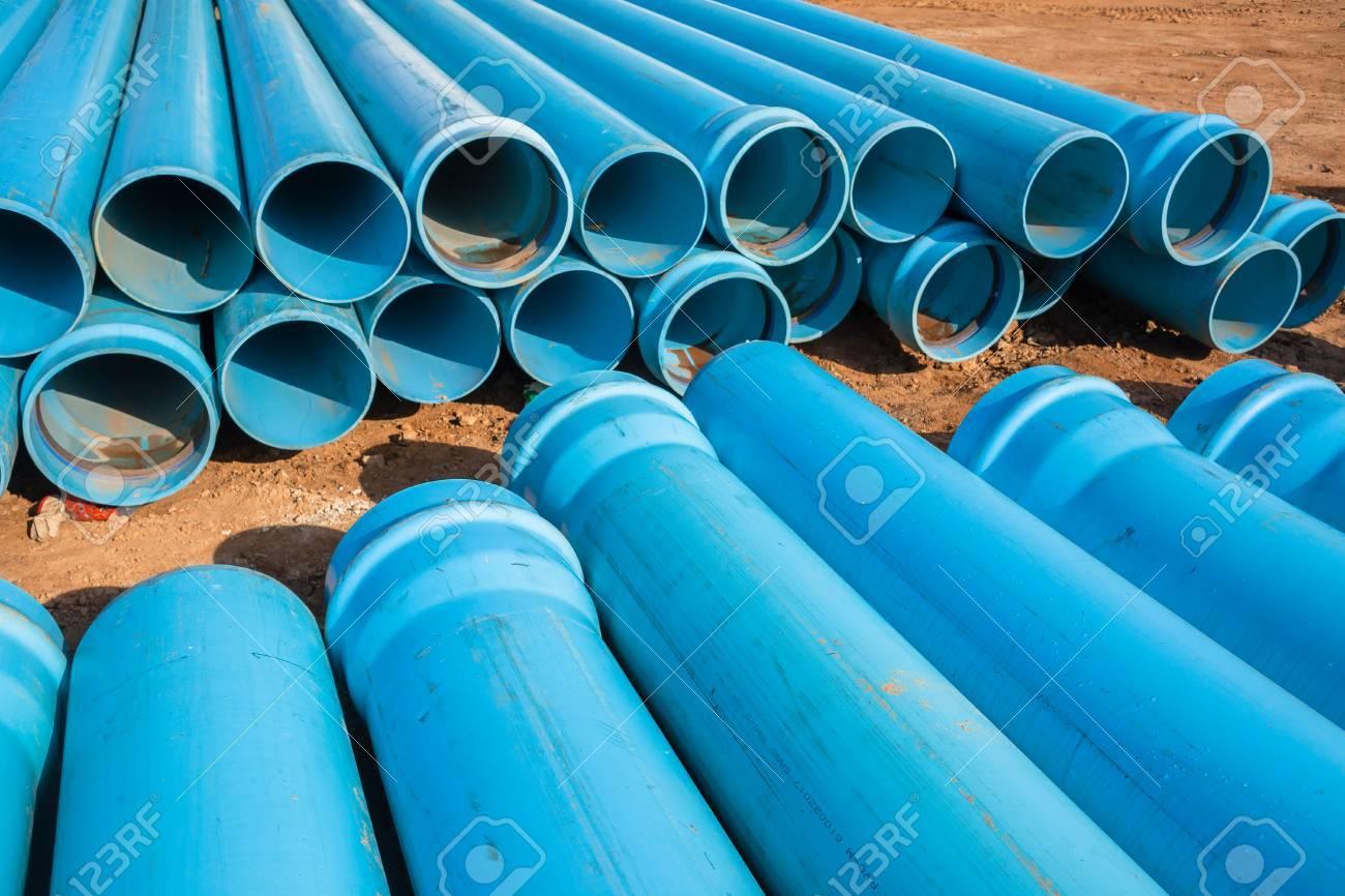 Berühmt Bau Blau Kunststoff PVC-Rohre Für Sanitär-Infrastruktur BH04