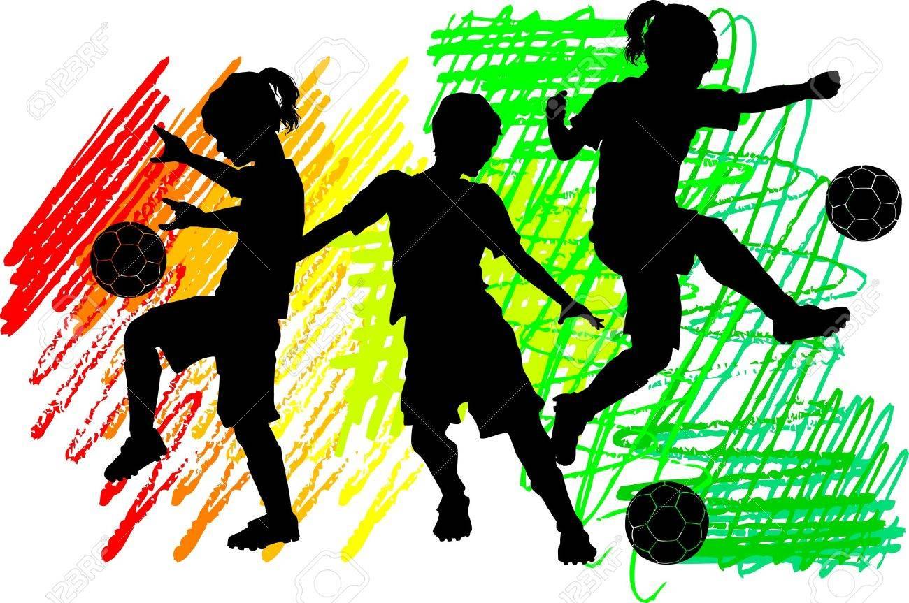 Resultado de imagen de imagen futbol infantil