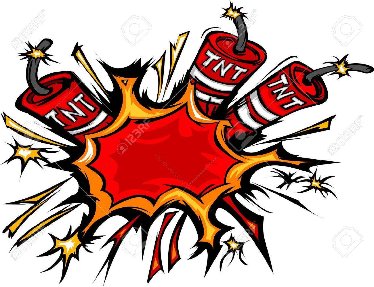 cartoon image of a exploding dynamite sticks illustration royalty rh 123rf com