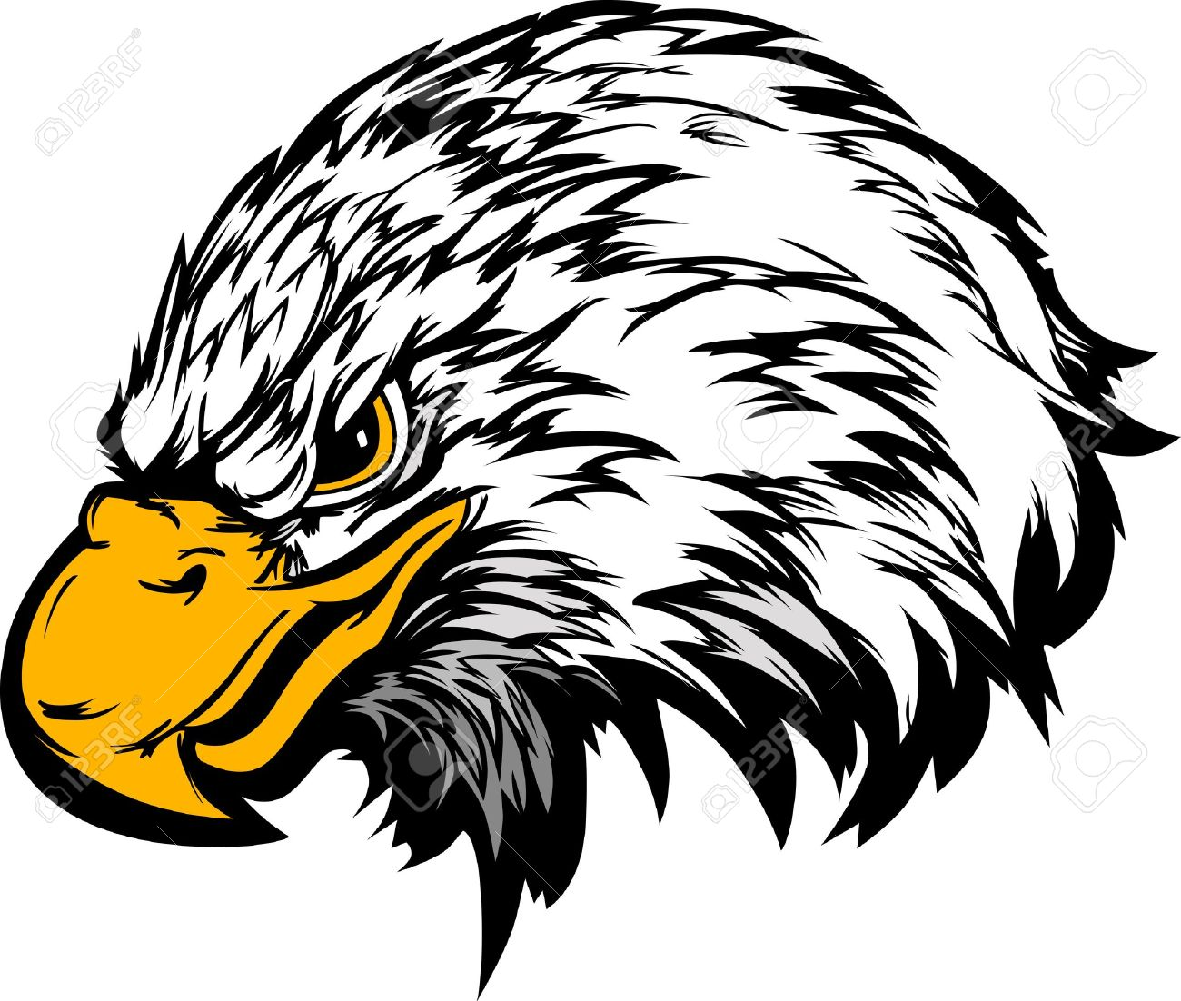 6 784 eagle head cliparts stock vector and royalty free eagle head rh 123rf com eagle head mascot clipart eagle head clipart free