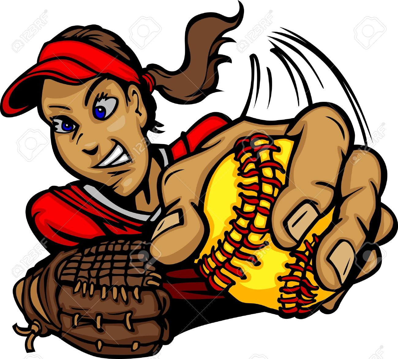 Free Softball Cliparts Silhouette, Download Free Clip Art, Free Clip Art on  Clipart Library