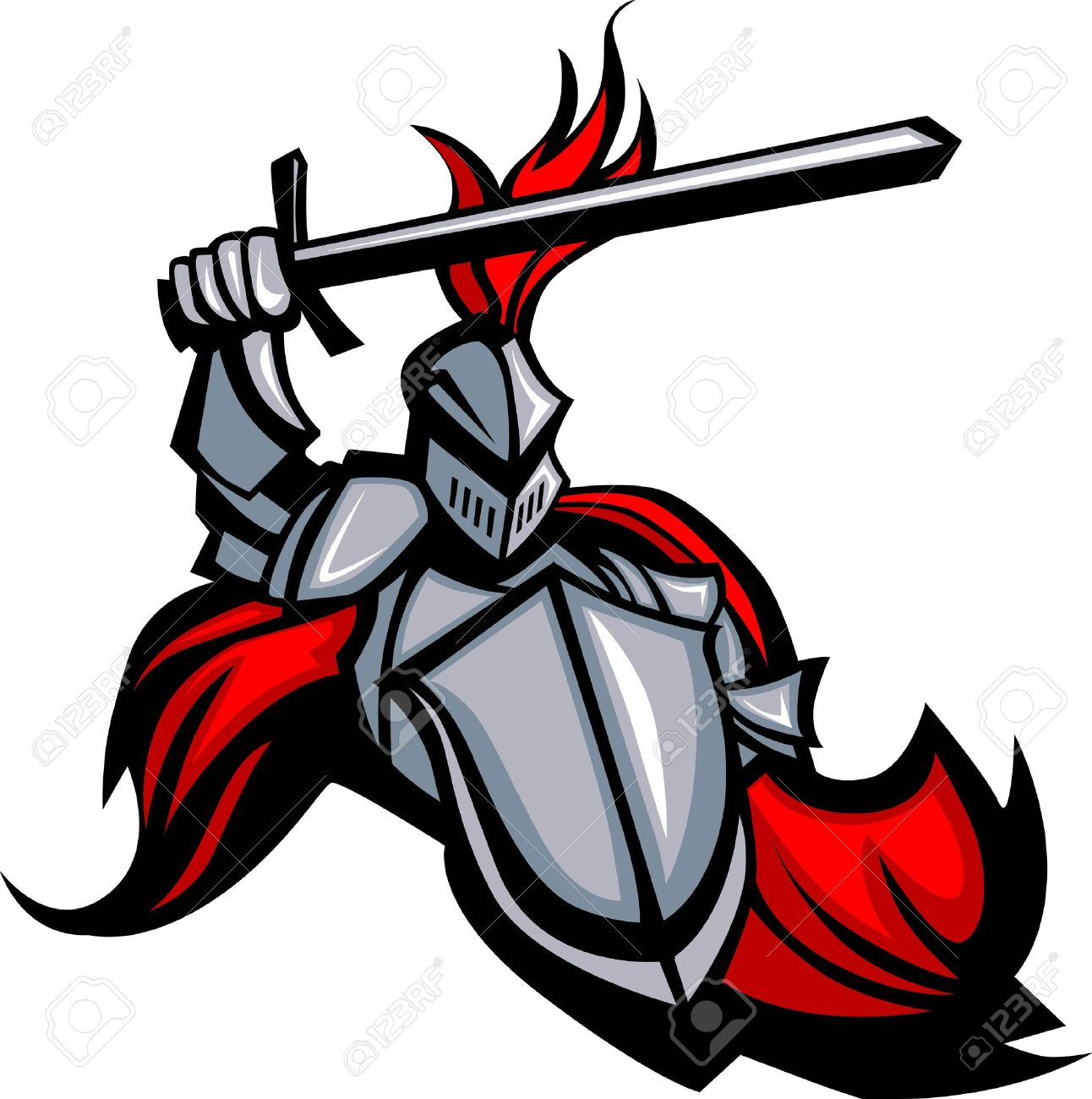 40 113 knight stock vector illustration and royalty free knight clipart rh 123rf com  knight in shining armor clipart free