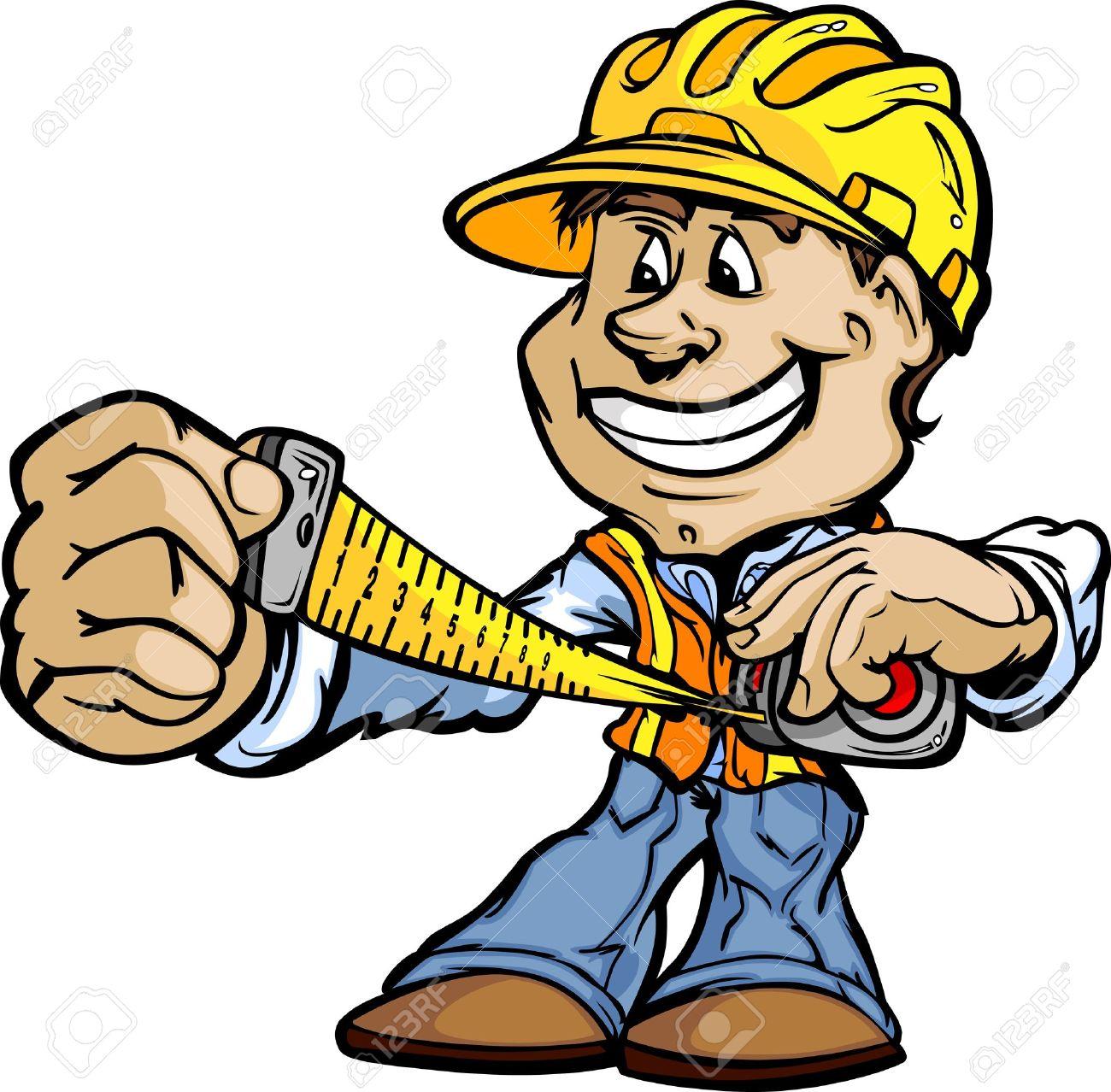 Handwerker clipart kostenlos  Bauarbeiter Lizenzfreie Vektorgrafiken Kaufen: 123RF