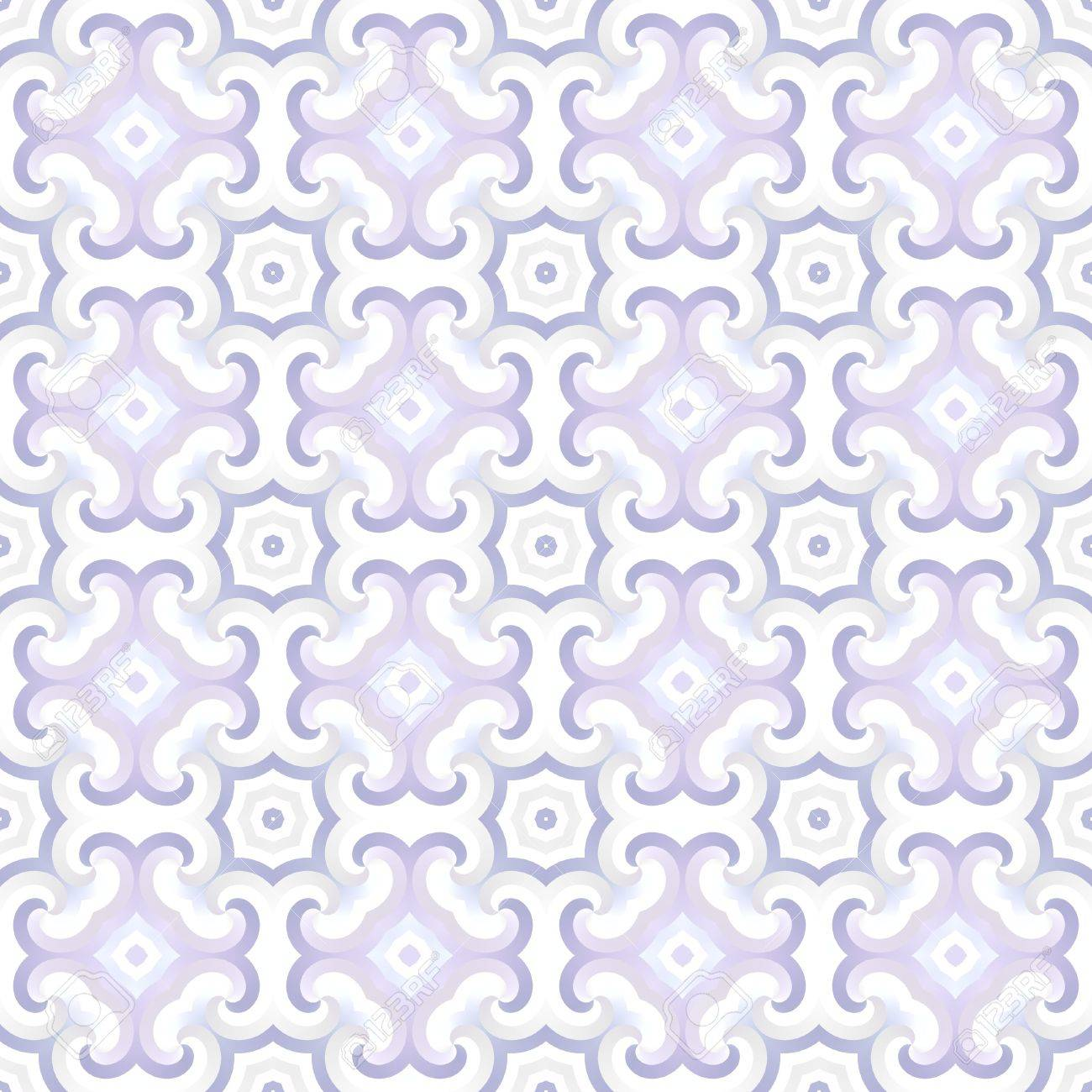 Pattern Tile In Pale Purple - Seamless Tiling Stock Photo, Picture ...