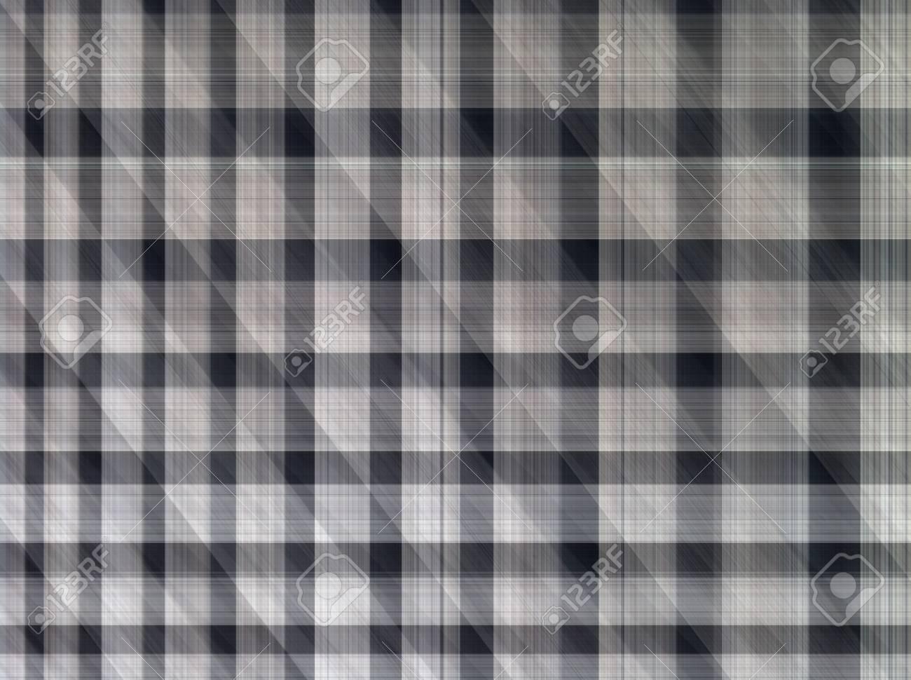 Abstract Fabric Plaid Baumwolle Bunte Textur Hintergrund Lizenzfreie