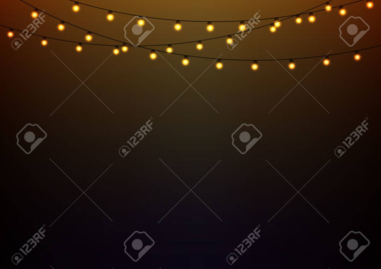 Abstract background with glowing lights - 54448828