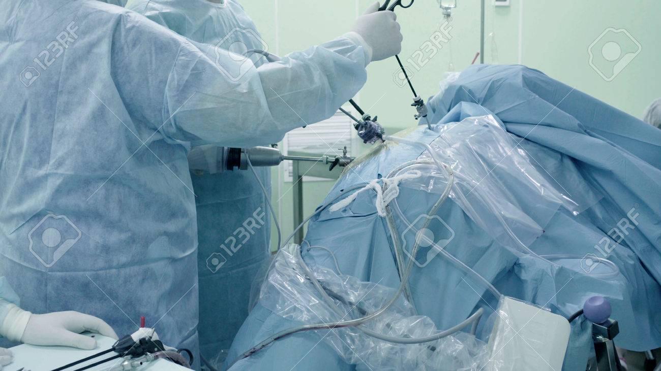 When laparoscopy is used