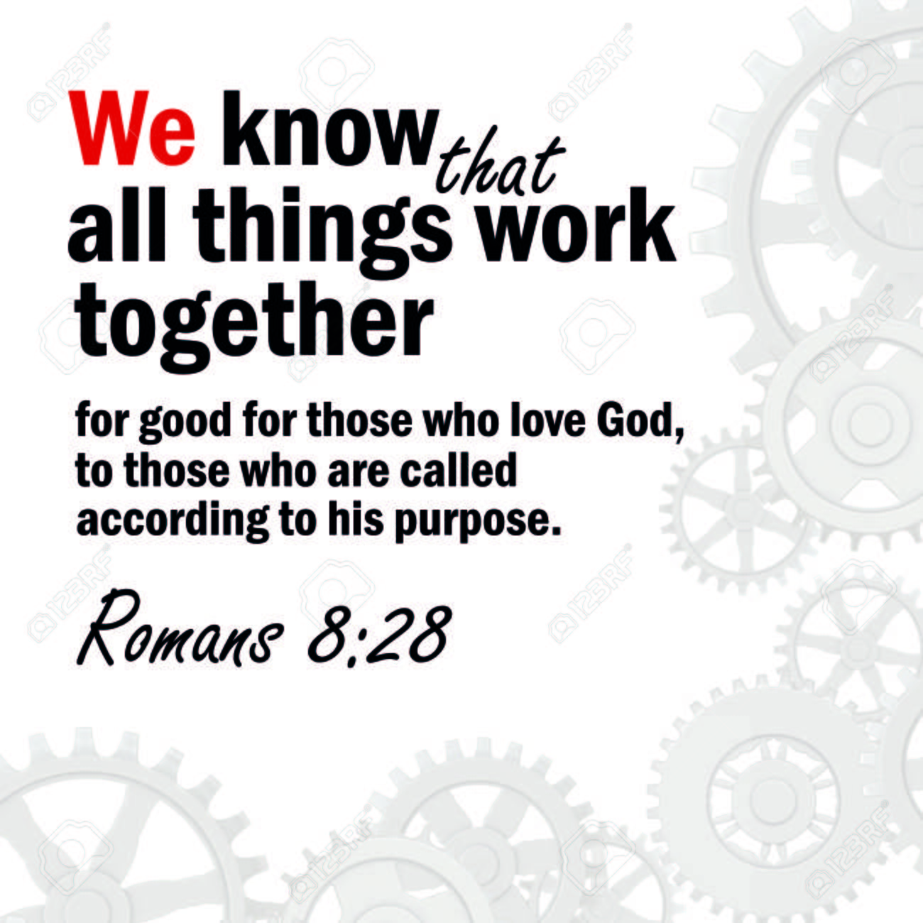 All Things Work Together for Good!