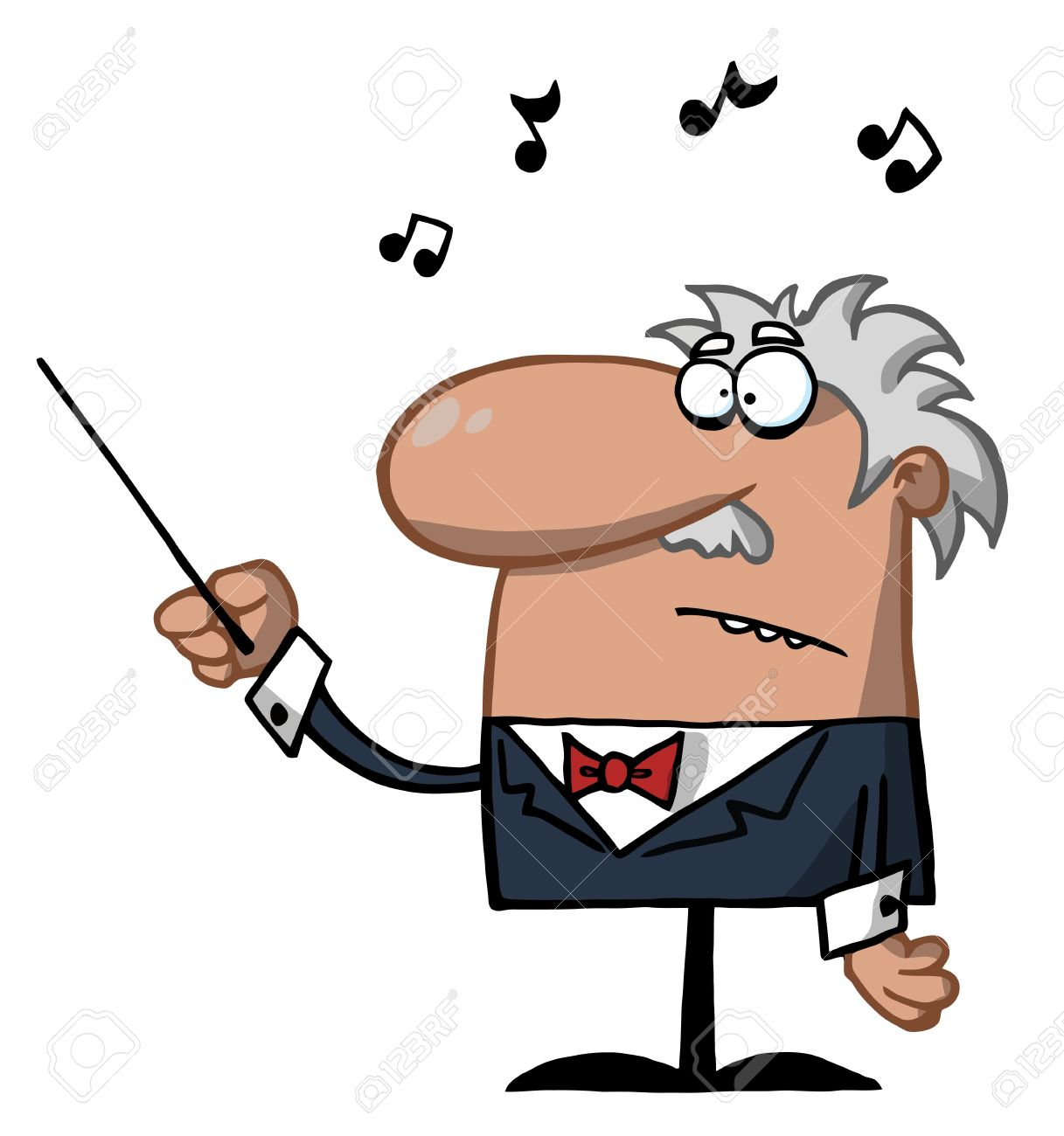 male conductor waving a baton royalty free cliparts vectors and rh 123rf com bus conductor clipart bus conductor clipart