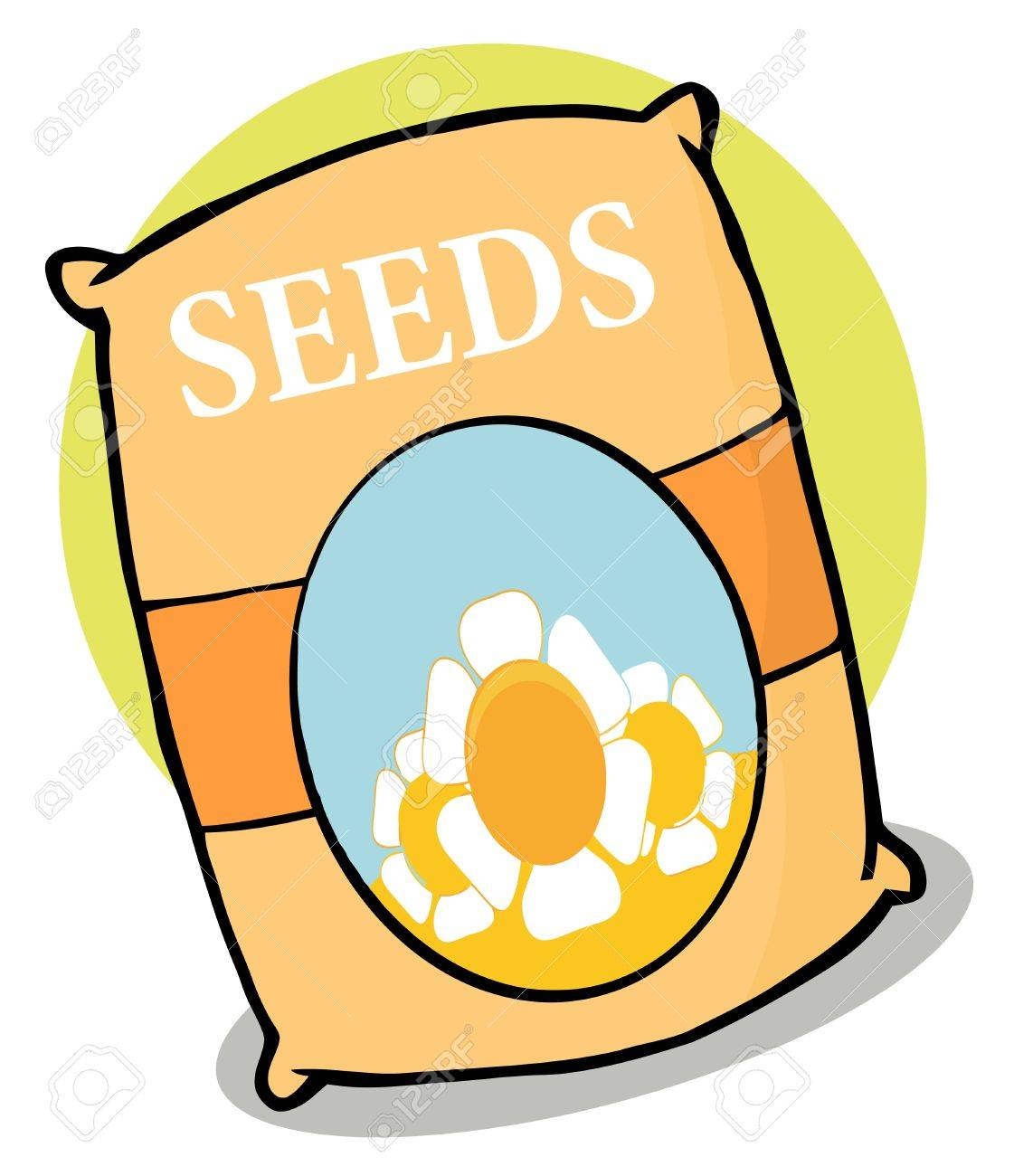 packet of flower seeds stock photo picture and royalty free image rh 123rf com seed packet clipart free seed package clip art