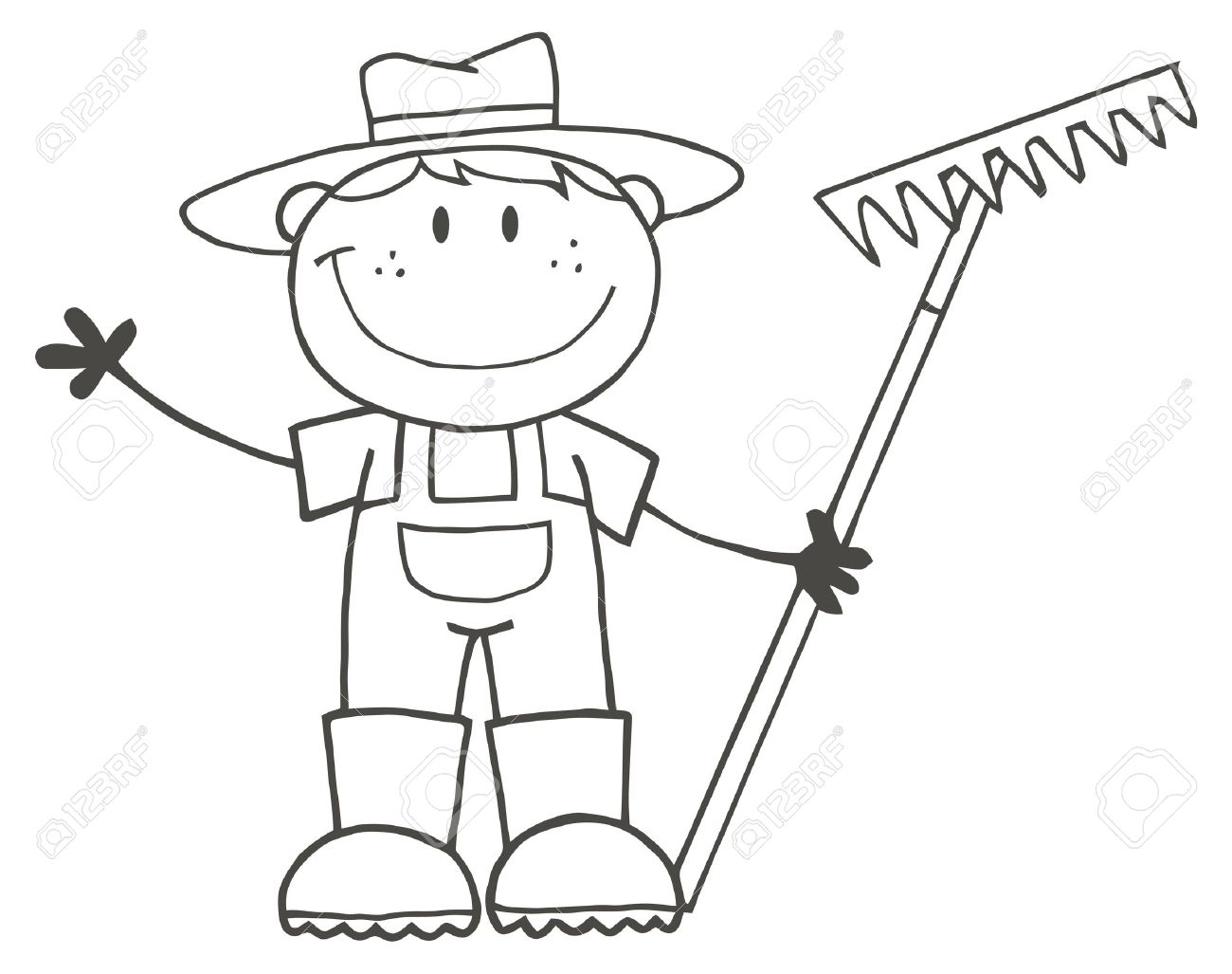 Farm Life Coloring Pages Free Printable