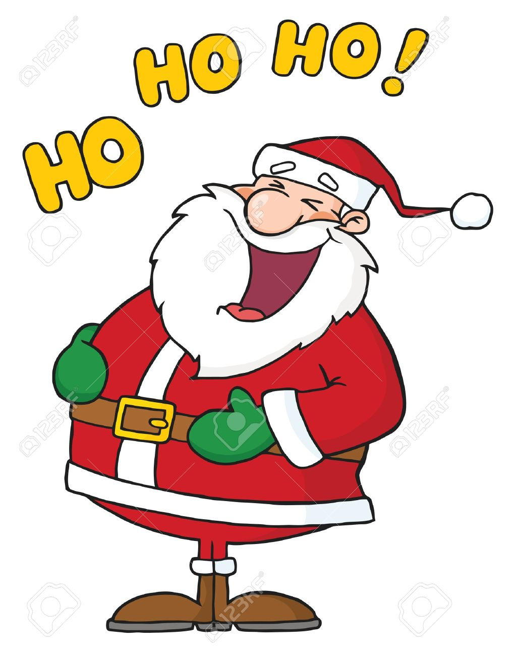 Image result for laughing santa