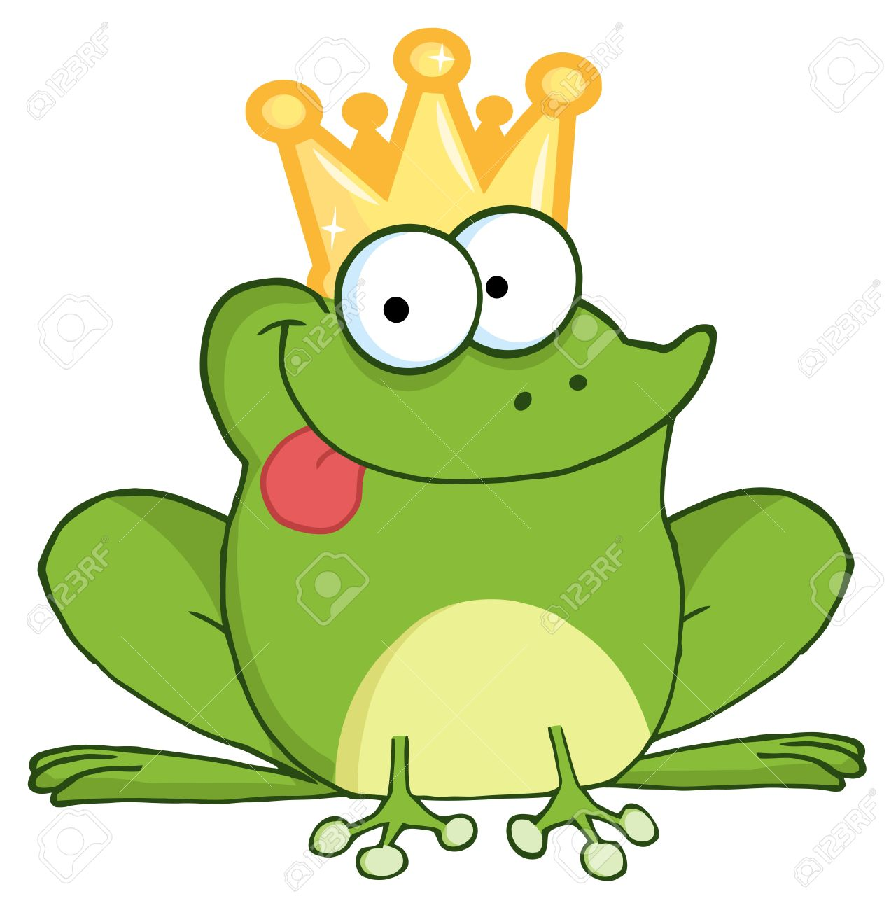 mamy, mamy Blou....... - Page 2 8721147-frog-prince-cartoon-character-Stock-Vector