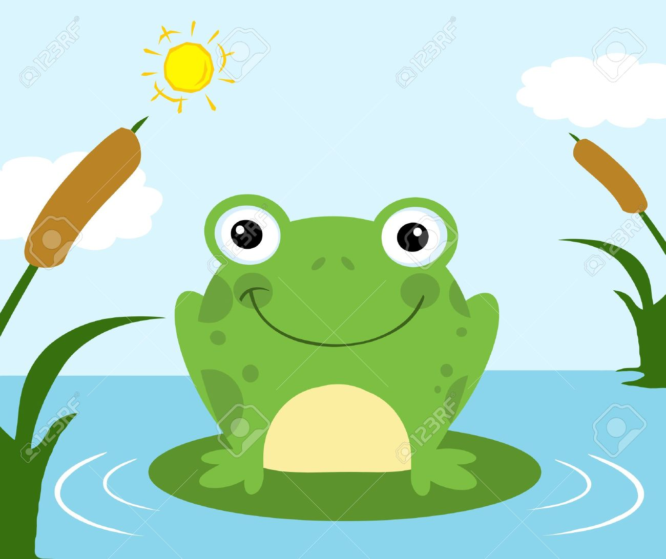 cartoon frog pictures - photo #7