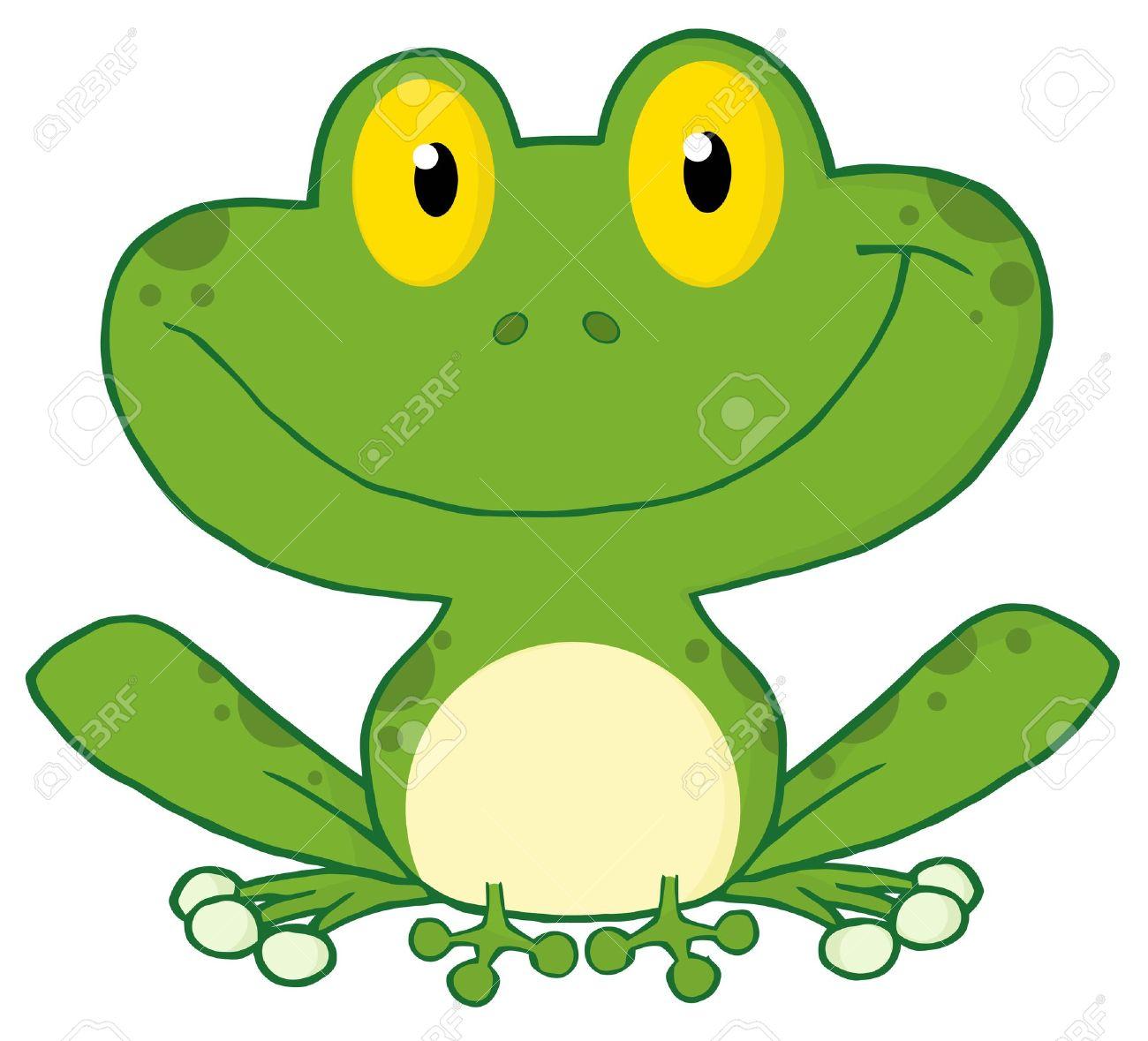Happy Frog Cartoon Character - 8930289