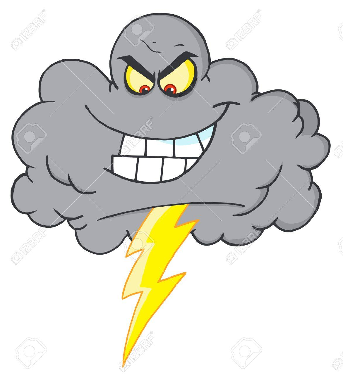 storm cloud with thunderbolt royalty free cliparts vectors and rh 123rf com storm cloud clipart free storm cloud pictures clipart