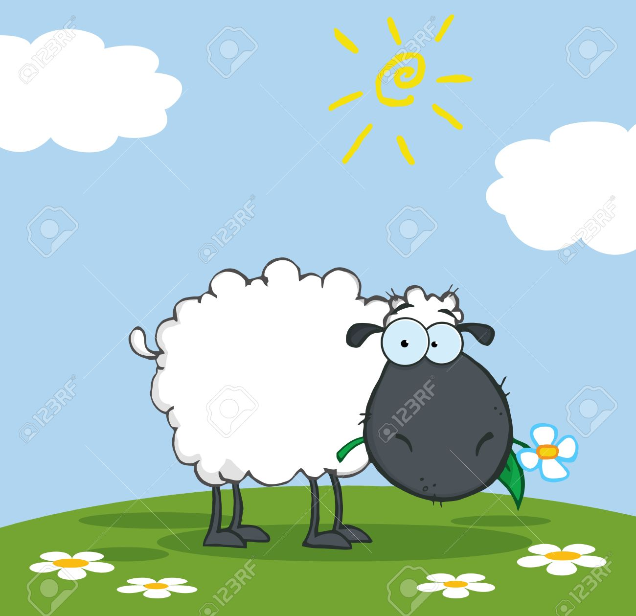 sheep cartoon stock photos royalty free sheep cartoon images and