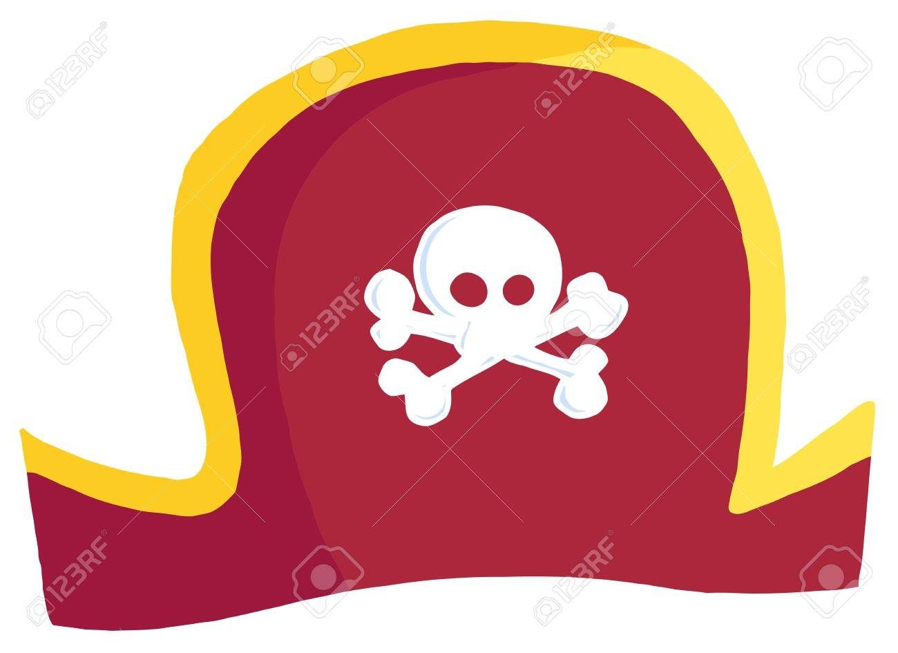 Pirate Hat Stock Vector - 9634036