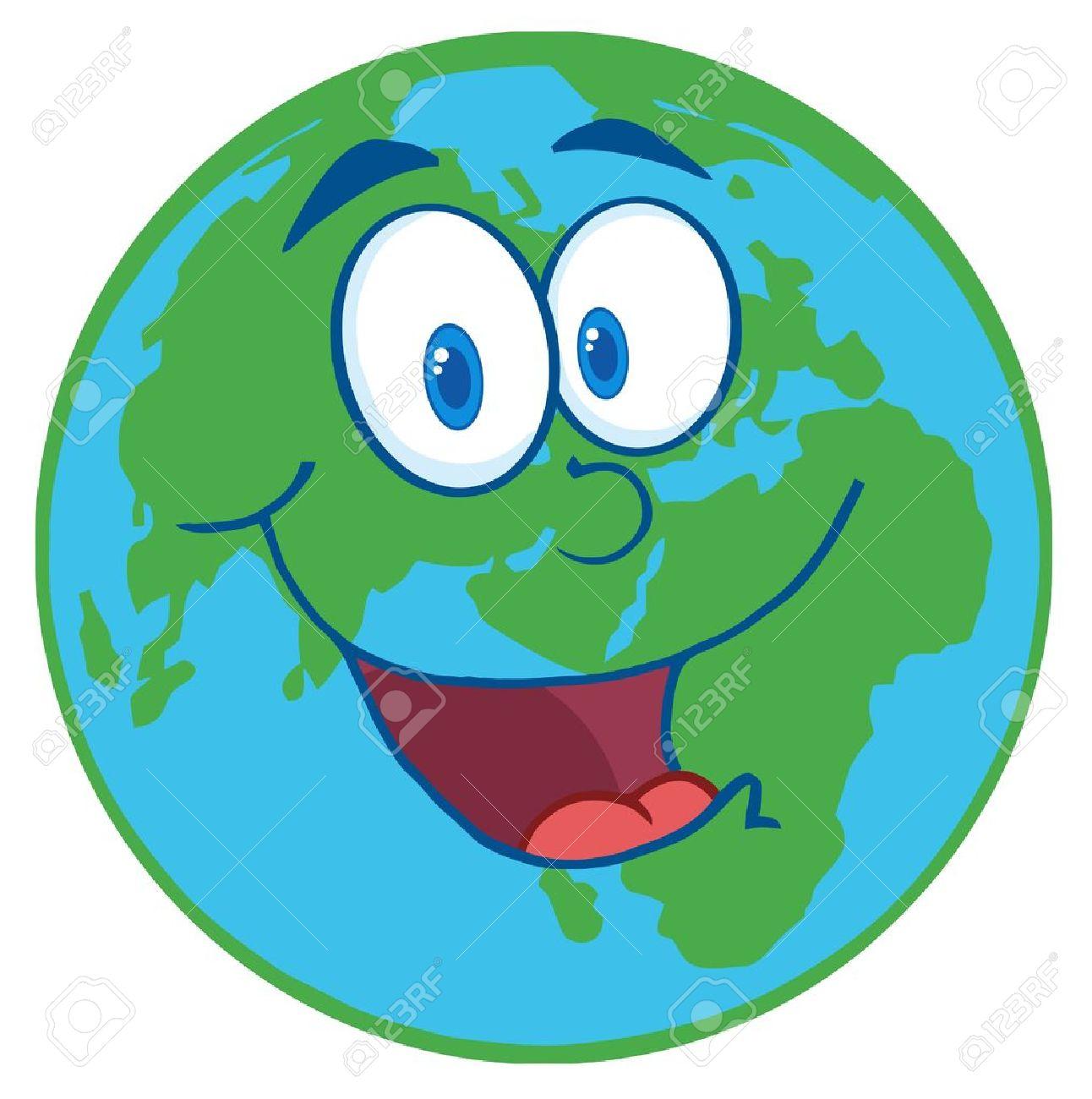 Planeta Tierra Feliz Imágenes De Archivo, Vectores, Planeta Tierra ...