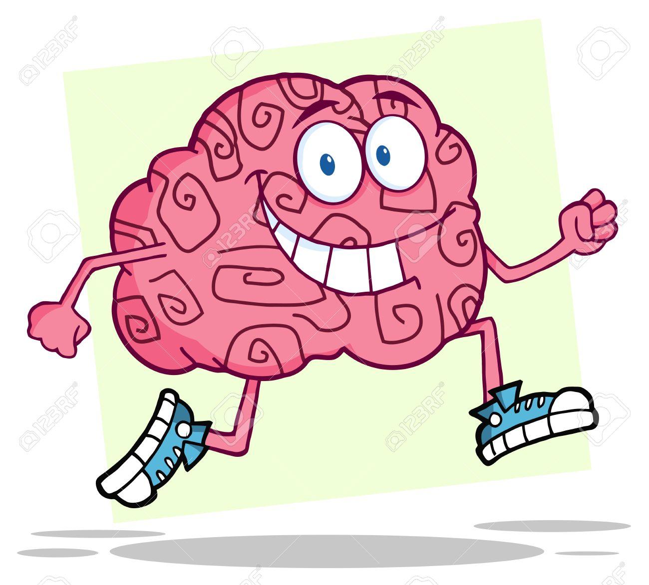 Running Brain - 10391667