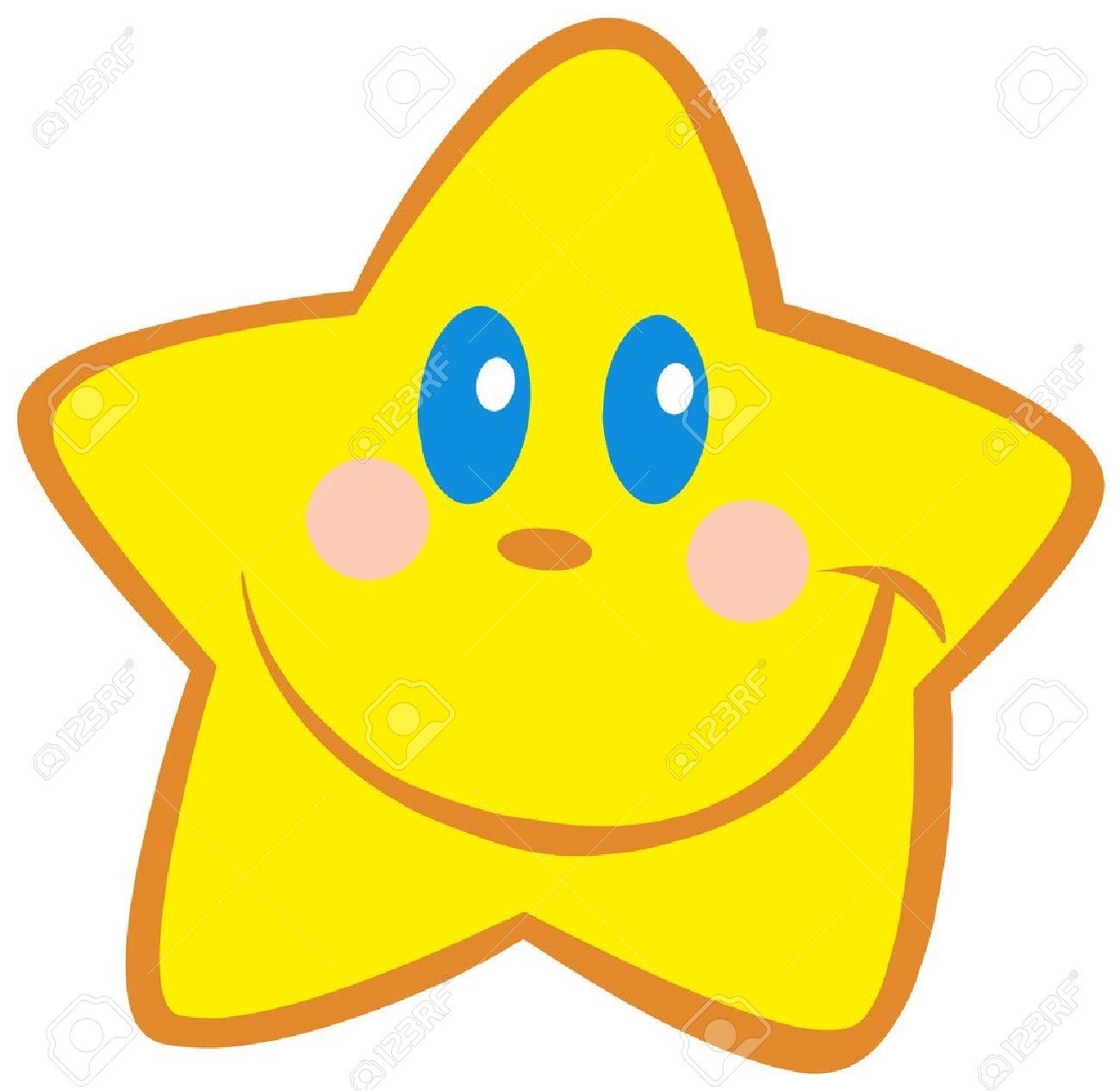 Happy Little Star Stock Vector - 12493437
