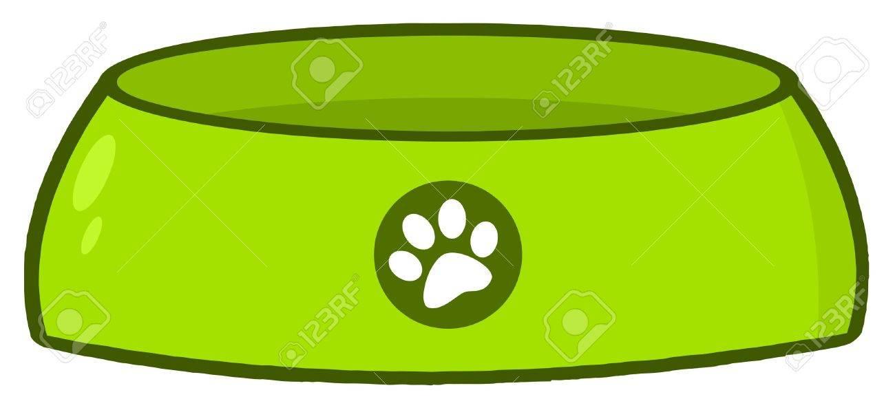 Empty Dog Bowl Stock Vector - 12991375