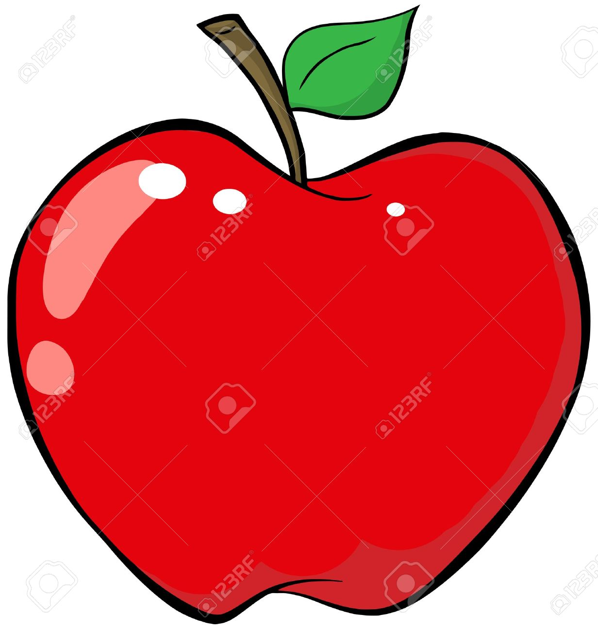cartoon red apple royalty free cliparts vectors and stock rh 123rf com apple carton pencil case apple's cartoons