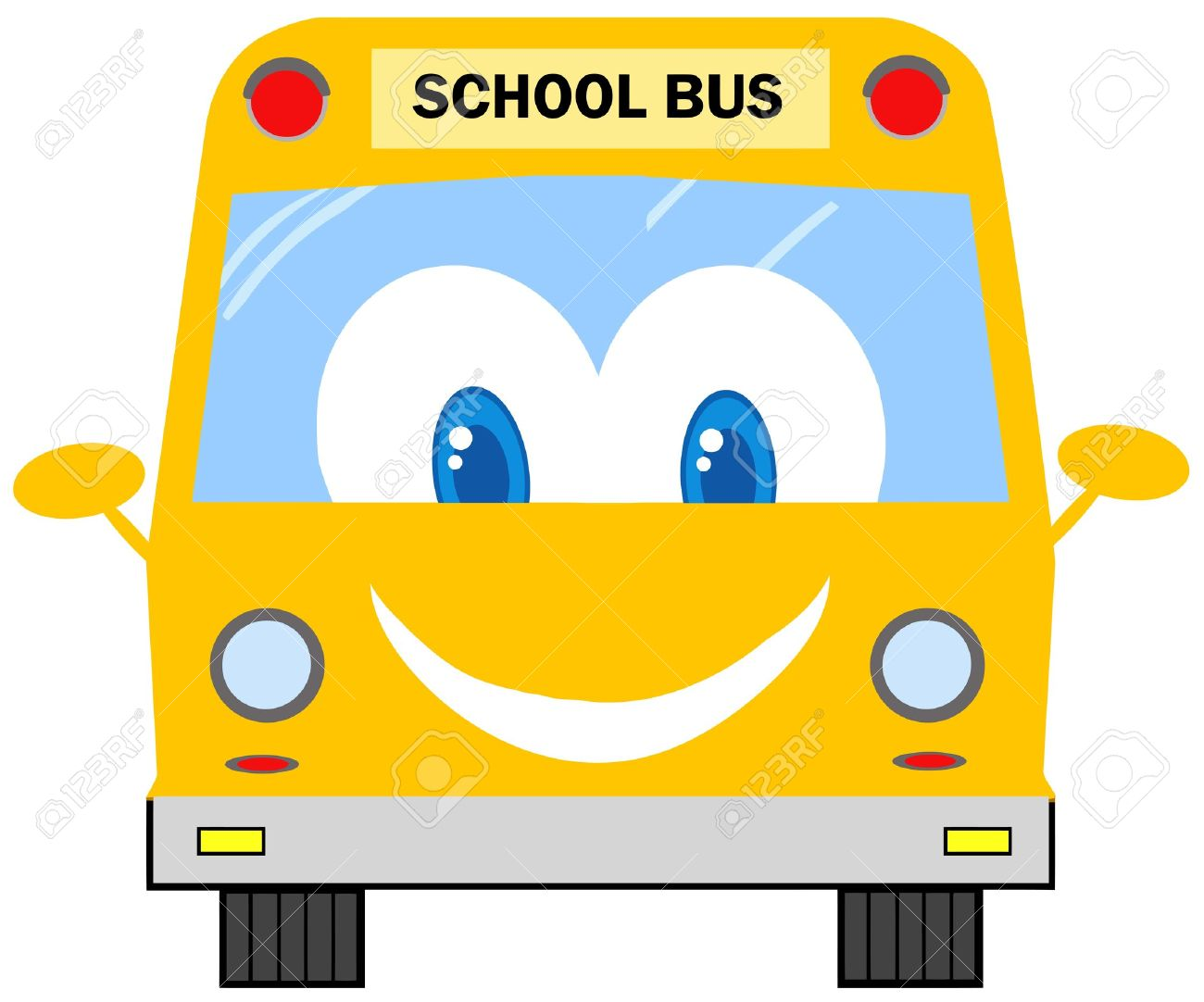 Bus Driver Funny School Bus