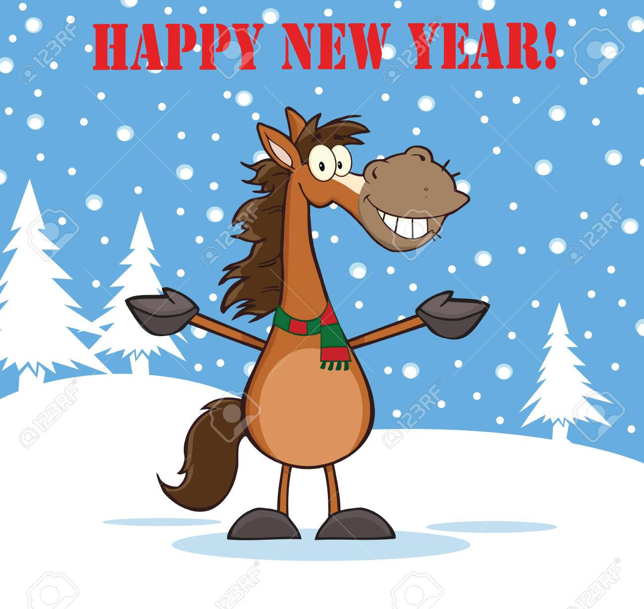 Happy New Year Horse Images 7