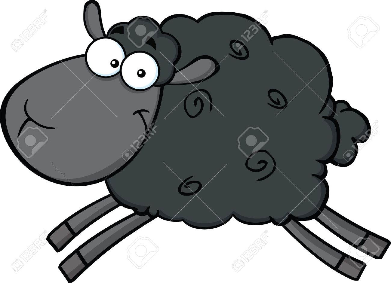 Black Sheep Stock Photos. Royalty Free Black Sheep Images