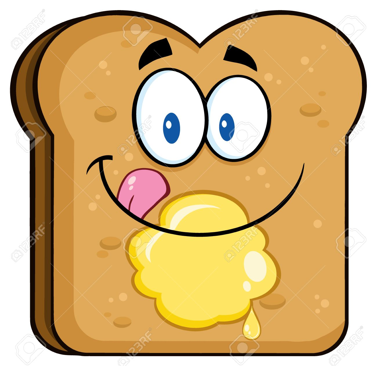 Image result for cartoon toast
