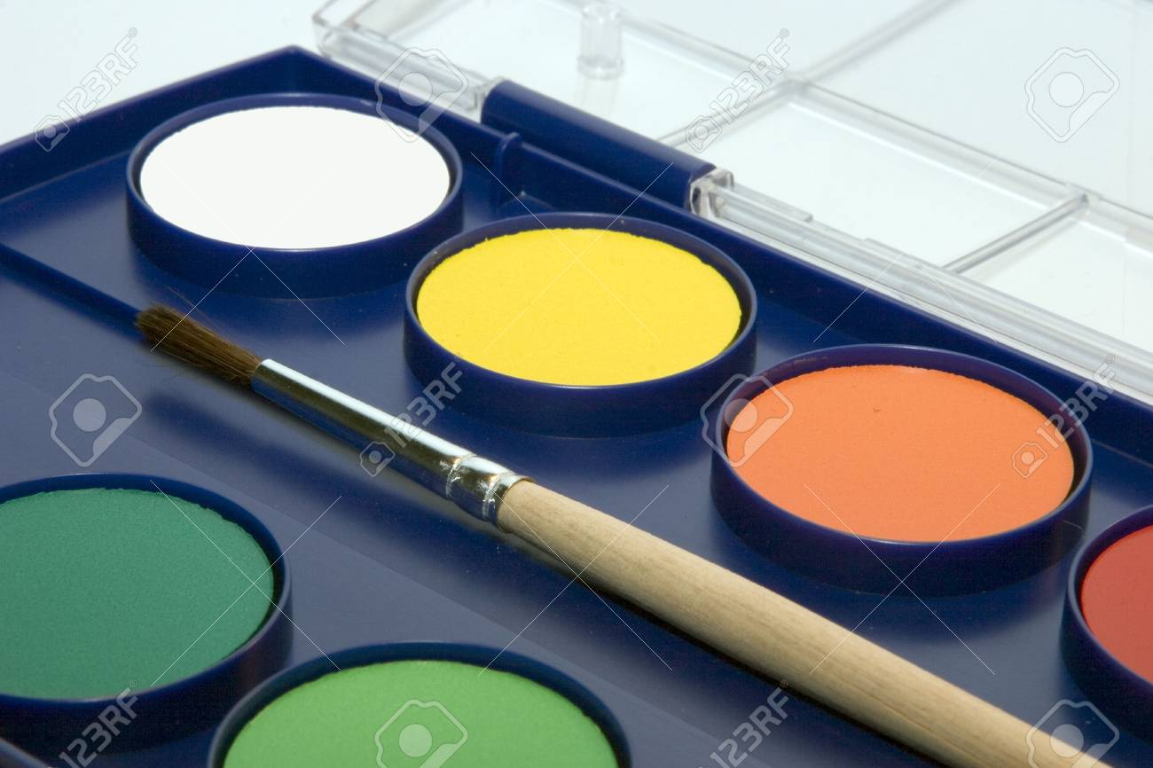 water-colour box Stock Photo - 216413